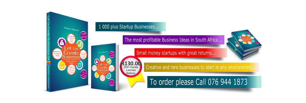 LET US CREATE BUSINESSES SA - OUT NOW!